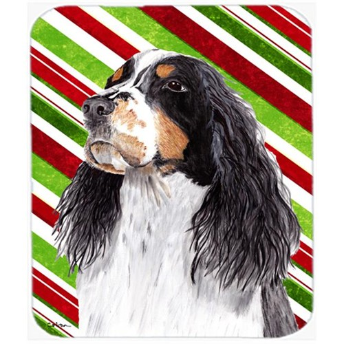 Carolines Treasures SC9321MP Springer Spaniel Candy Cane Holiday Christmas Mouse Pad Hot Pad or Trivet