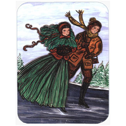 Carolines Treasures CN5004MP 7.75 x 9.25 In. Couple Skating Mouse Pad Hot Pad or Trivet