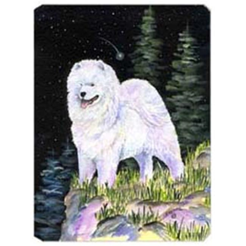 Carolines Treasures SS8498MP Starry Night Samoyed Mouse Pad