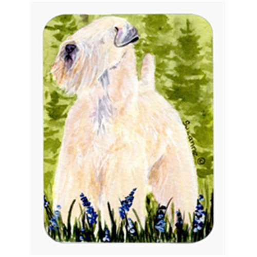 Carolines Treasures SS1022MP 8 x 9.5 in. Wheaten Terrier Soft Coated Mouse Pad Hot Pad or Trivet