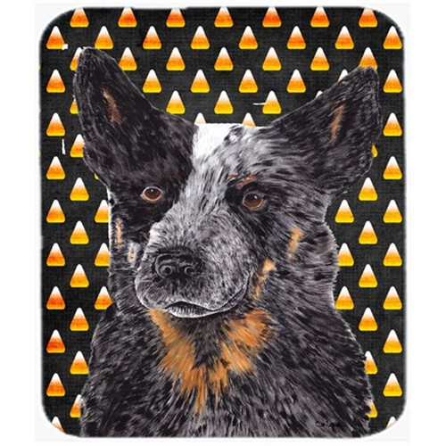 Carolines Treasures SC9190MP Australian Cattle Dog Candy Corn Halloween Mouse Pad Hot Pad Or Trivet