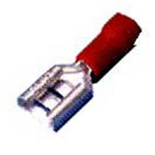 Morris Products 10310 Vinyl Insulated Female Disconnects - 22-16 Wire.03 2 X.110 Tab Pack Of 100