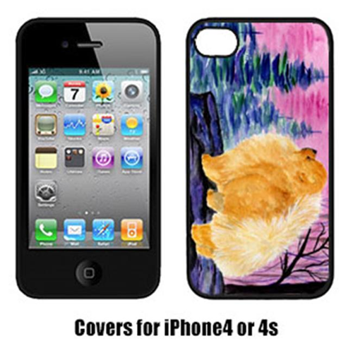 Carolines Treasures SS8606IP4 Pomeranian Iphone4 Cover
