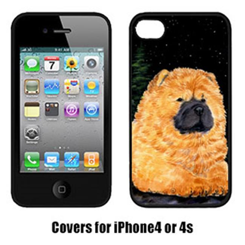 Carolines Treasures SS8489IP4 Starry Night Chow Chow Cell Phone cover IPhone 4