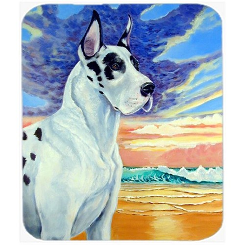 Carolines Treasures 7098MP 9.5 x 8 in. Great Dane Harlequin Dane at Sunset Mouse Pad Hot Pad or Trivet