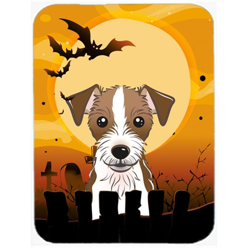 Carolines Treasures BB1760MP Halloween Jack Russell Terrier Mouse Pad Hot Pad & Trivet
