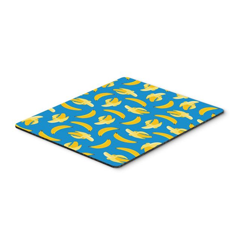 Carolines Treasures BB5149MP Bananas on Blue Mouse Pad Hot Pad or Trivet