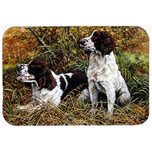 Carolines Treasures HMHE0002MP Two Springer Spaniels in the Grasses Mouse Pad Hot Pad or Trivet