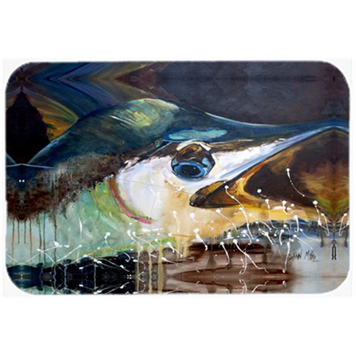 Carolines Treasures JMK1111MP Blue Marlin Mouse Pad Hot Pad & Trivet