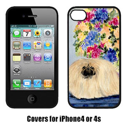 Carolines Treasures SS8315IP4 Pekingese Cell Phone cover IPhone 4