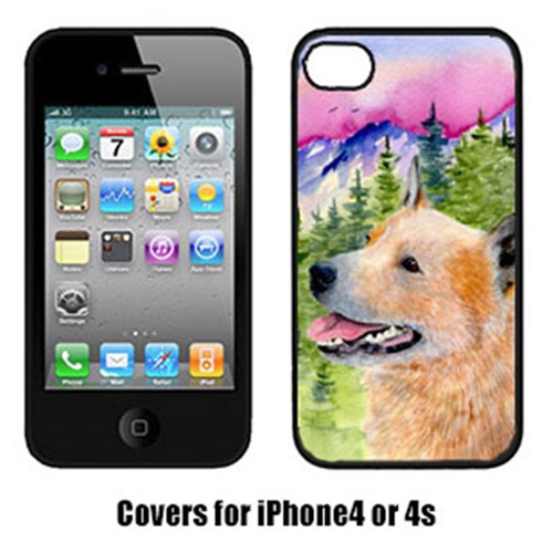 Carolines Treasures SS8335IP4 Australian Cattle Dog Cell Phone cover IPhone 4