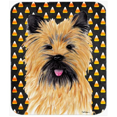 Carolines Treasures SC9199MP Cairn Terrier Candy Corn Halloween Portrait Mouse Pad Hot Pad or Trivet