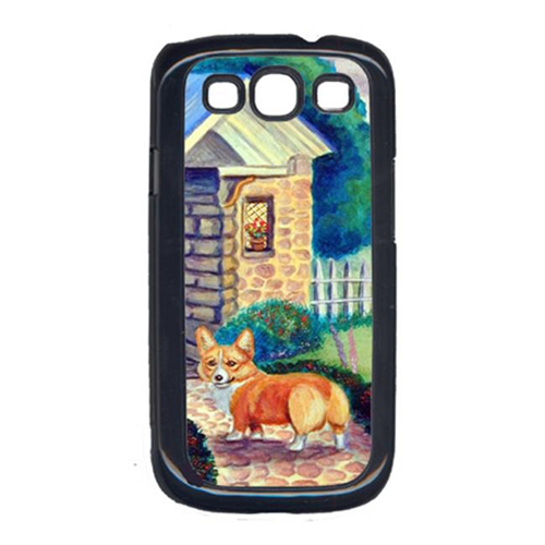 Carolines Treasures 7169GALAXYSIII Pembroke Corgi At The Cottage Galaxy S111 Cell Phone Cover