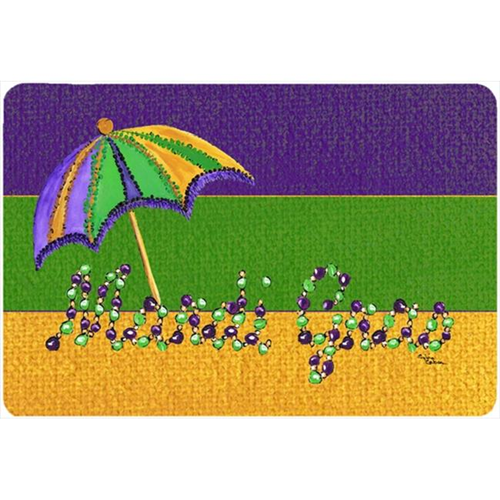 Carolines Treasures 8381MP 9.5 x 8 in. Mardi Gras Mouse Pad Hot Pad Or Trivet