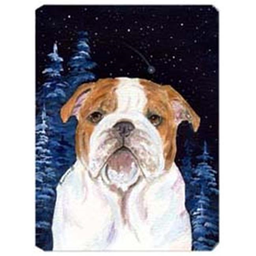 Carolines Treasures SS8447MP Starry Night English Bulldog Mouse Pad