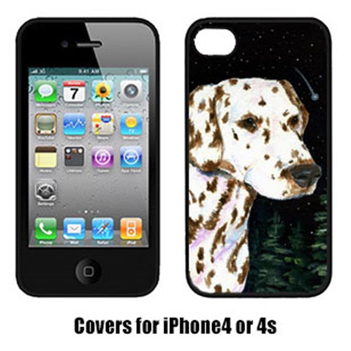 Carolines Treasures SS8518IP4 Starry Night Dalmatian Iphone4 Cover