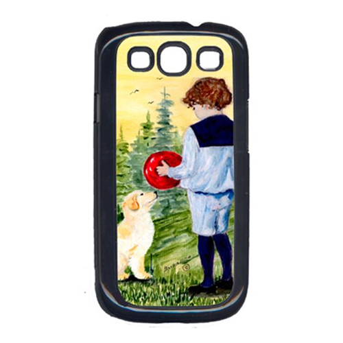 Carolines Treasures SS8530GALAXYSIII Little Boy With His Golden Retriever Galaxy S111 Cell Phone Cover