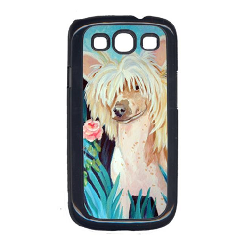 Carolines Treasures 7087GALAXYSIII Chinese Crested Cell Phone Cover For Galaxy S111