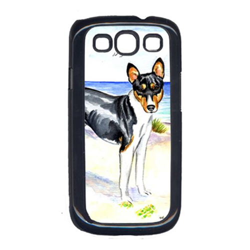 Carolines Treasures 7109GALAXYSIII Tricolor Basenji at the beach Cell Phone Cover Galaxy S111