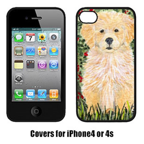 Carolines Treasures SS8857IP4 Golden Retriever Cell Phone Cover Iphone4