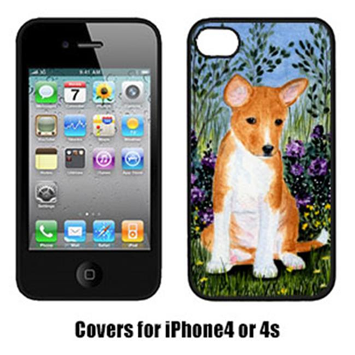 Carolines Treasures SS8108IP4 Basenji Iphone 4 Cover