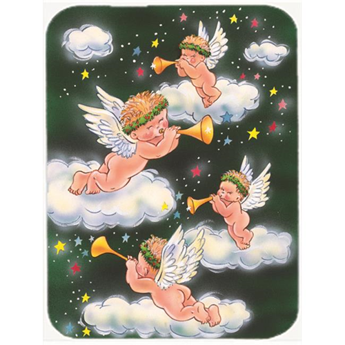Carolines Treasures AAH7253MP Angels on Green Mouse Pad Hot Pad or Trivet