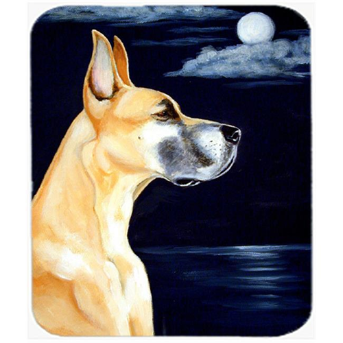 Carolines Treasures 7100MP 9.5 x 8 in. Fawn Great Dane in the Moonlight Mouse Pad Hot Pad or Trivet