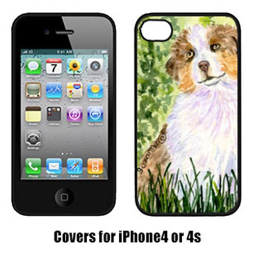 Carolines Treasures SS8844IP4 Australian Shepherd Iphone 4 Cover