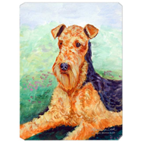 Carolines Treasures 7239MP 8 x 9.5 in. Airedale Mouse Pad Hot Pad or Trivet