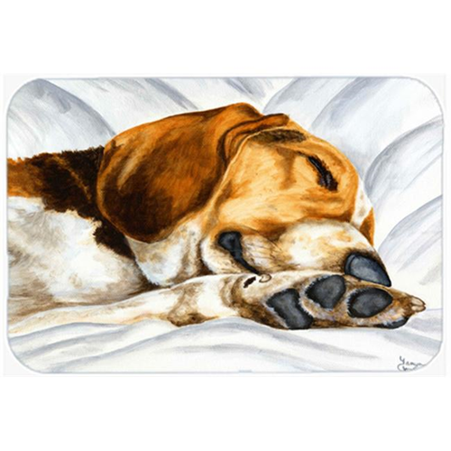 Carolines Treasures AMB1076MP Beagle Bliss Mouse Pad Hot Pad or Trivet