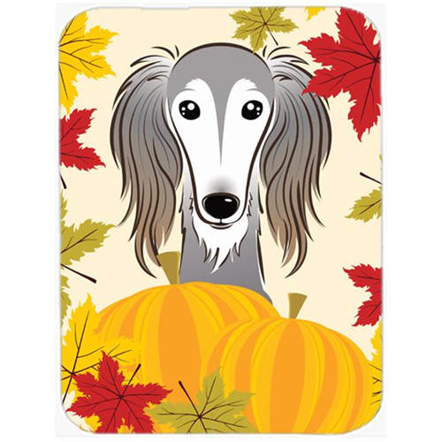 Carolines Treasures BB2035MP Saluki Thanksgiving Mouse Pad Hot Pad or Trivet