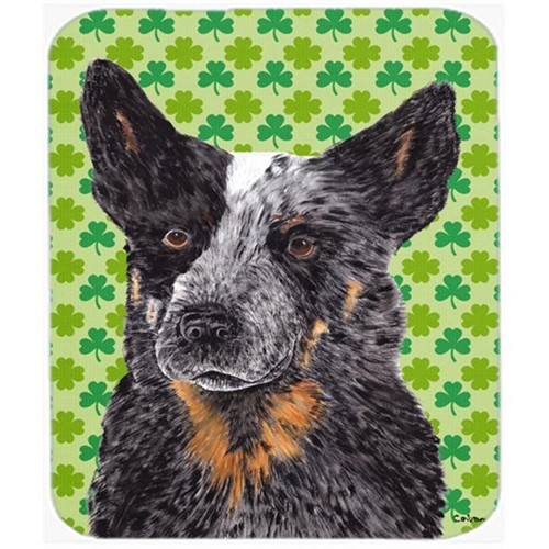 Carolines Treasures SC9316MP Australian Cattle Dog St. Patricks Day Shamrock Mouse Pad Hot Pad or Trivet