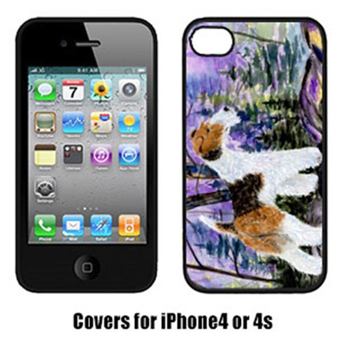 Carolines Treasures SS8630IP4 Fox Terrier Cell Phone Cover Iphone4