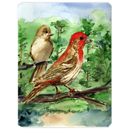 Carolines Treasures KR9029MP 9.5 x 8 in. Bird - House Finch Mouse Pad Hot Pad Or Trivet