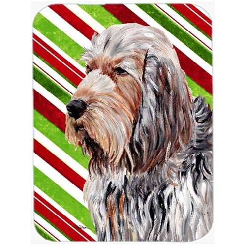 Carolines Treasures SC9804MP Otterhound Candy Cane Christmas Mouse Pad Hot Pad Or Trivet 7.75 x 9.25 In.