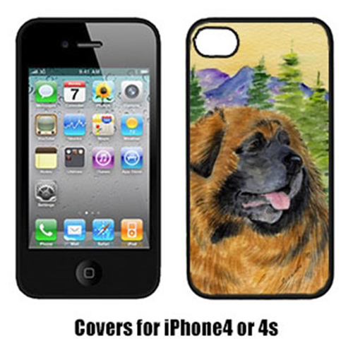 Carolines Treasures SS8202IP4 Leonberger Cell Phone cover IPhone 4