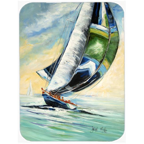 Carolines Treasures JMK1163MP Cruising The Coast Sailboats Mouse Pad Hot Pad & Trivet