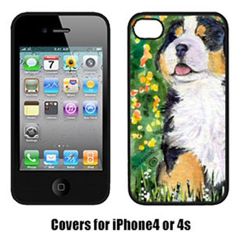 Carolines Treasures SS8955IP4 Bernese Mountain Dog Cell Phone Cover Iphone4