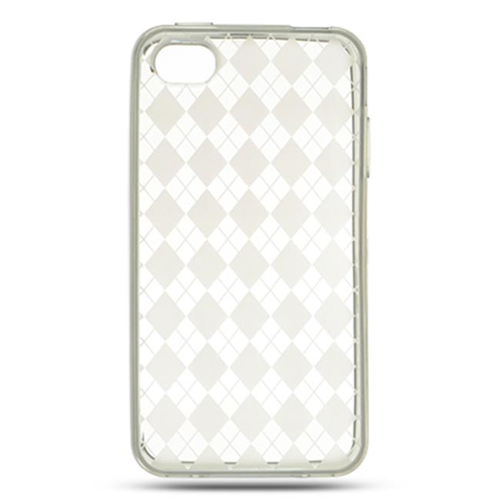 DreamWireless IP-CSIP4VZCLCK iPhone 4S & iPhone 4 Compatible Crystal Skin Case - Clear Check