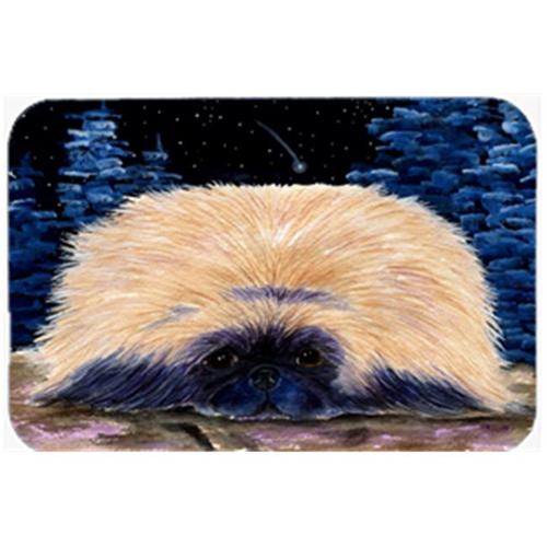 Carolines Treasures SS8439MP Starry Night Pekingese Mouse Pad