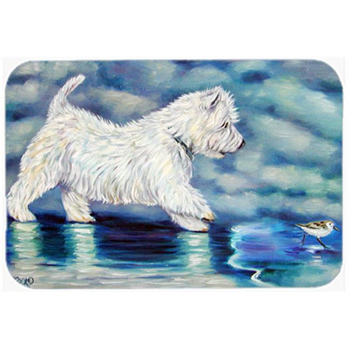 Carolines Treasures 7334MP Misty Westie Mouse Pad Hot Pad & Trivet