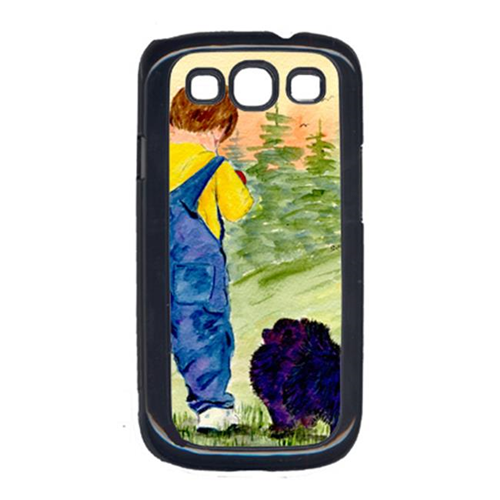 Carolines Treasures SS8544GALAXYSIII Little Boy With His Pomeranian Cell Phone Cover Galaxy S111
