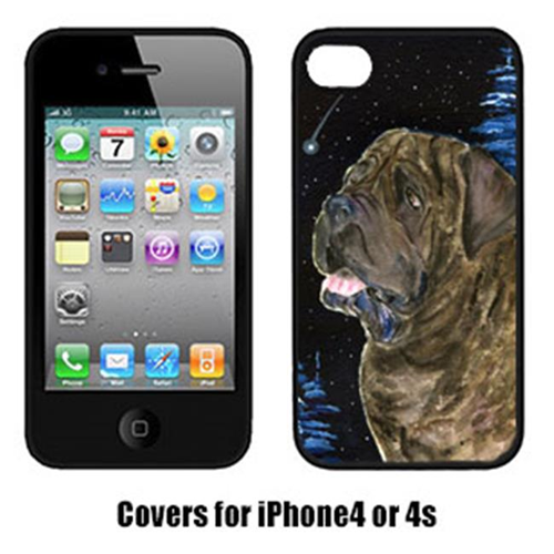 Carolines Treasures SS8463IP4 Starry Night Mastiff Cell Phone Cover Iphone 4