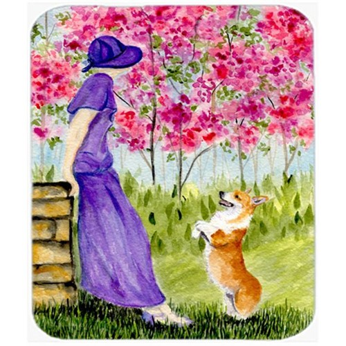 Carolines Treasures SS8616MP Corgi Mouse Pad Hot Pad Or Trivet