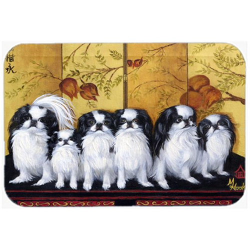 Carolines Treasures MH1060MP Japanese Chin Tea House Mouse Pad Hot Pad & Trivet