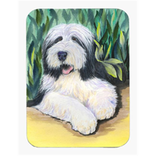 Carolines Treasures SS1038MP 8 x 9.5 in. Bearded Collie Mouse Pad Hot Pad or Trivet