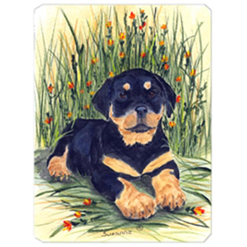 Carolines Treasures SS8107MP Rottweiler Mouse Pad Hot Pad & Trivet