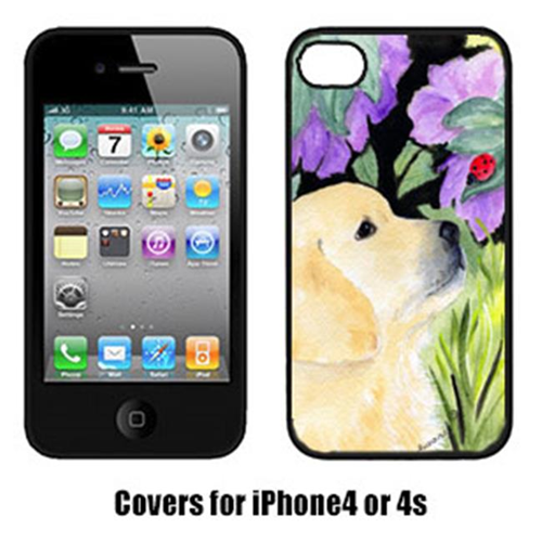 Carolines Treasures SS8245IP4 Golden Retriever Cell Phone cover IPhone 4