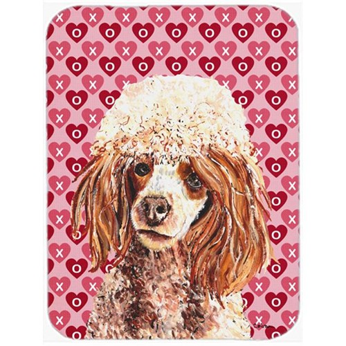 Carolines Treasures SC9694MP Collie Hearts And Love Mouse Pad Hot Pad Or Trivet 7.75 x 9.25 In.