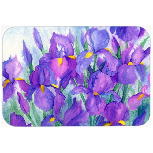 Carolines Treasures IBD0256MP Purple Iris Mouse Pad Hot Pad or Trivet